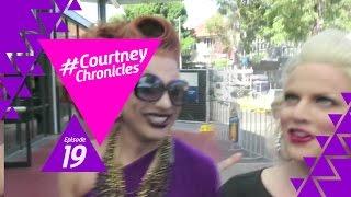 Bianca, Adore and Courtney do Sydney Mardi Gras - Courtney Chronicles 19