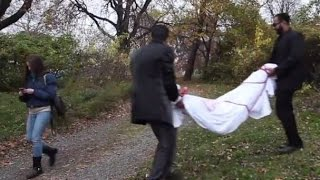 Dumping A Dead Body In The Park Scare Prank [Short Version]