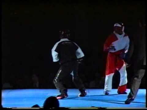 Michael Pombeiro vs Aballa Ibrahim at 1997 U.S. Open Karate Tournament