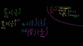 {3} Infinite Series ( Geometric Series ) |كالكولس 2 بالعربي | شرح  اصعب سؤال بالسلسلة هندسية