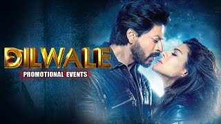 Dilwale Full Movie Promotional Events | Shah Rukh Khan, Kajol, Varun Dhawan, Kriti Sanon