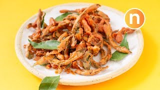 Fried Snake Gourd  Pudalangai Chips  Labu Ular Goreng Nyonya Cooking uploaded on 15 day(s) ago 7054 views