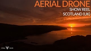 Drone over Scotland (UK) Promotional Show Reel Clip 2 - Aerial Drone Footage (Vitali Films)