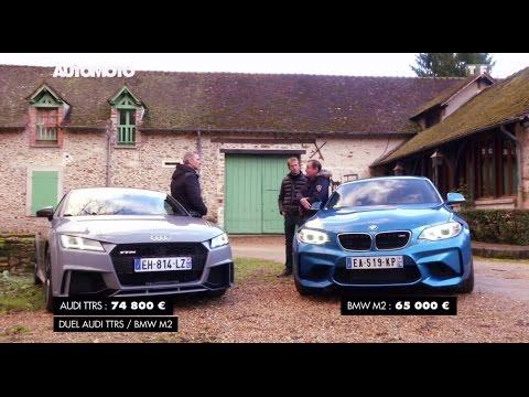 Duel BMW M2 Coupé vs Audi TT RS sur circuit