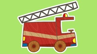 Cartoons for children 🚒 Car Toons New cartoon! Fire truck cartoon #FirstToons. Fire trucks for kids