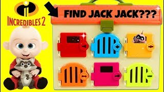 Learning Colors with THE INCREDIBLES 2 Baby Jack Jack, Gumballs Candy TOY SCHOOL
