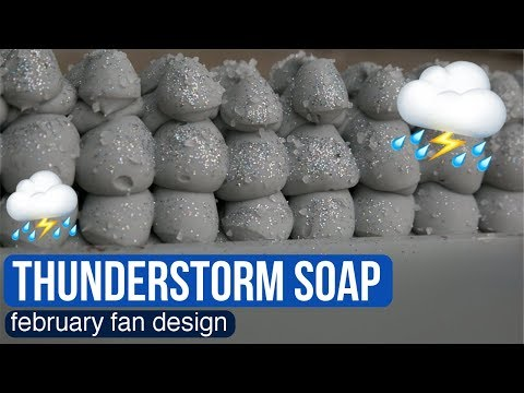 Turning Your Design Into Soap Thunderstorm ⛈️ Royalty Soaps