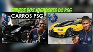 Carros dos jogadores do PSG (Diego Brito#Gamer)