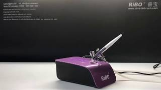 Small Hobby mini Paint spraygun sprayer mini air pump for airbrush kit with compressors machine