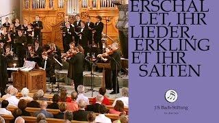 J.S. Bach - Cantata BWV 172 Erschallet ihr Lieder   5 Aria (J.S. Bach Foundation)