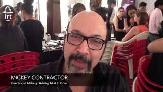 Mickey Contractor shares the look for Manish Malhotra's show