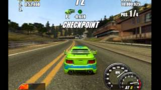 PS2 Playstation 2 - Burnout 2 Point Of Impact - Big Surf