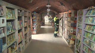 Do lixo para a estante, uma segunda chance para os livros em Ancara