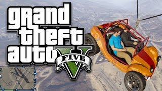 GTA 5 Online Group Stunts & Stuff! | DALLMYD
