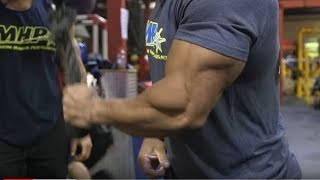 Big Arm Training with Victor Martinez and Chris Bumstead  - Part 1