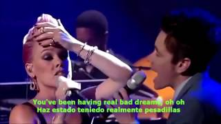 P!nk Feat Nate Ruess - Just Give Me A Reason  Lyrics English-Spanish Sub Español
