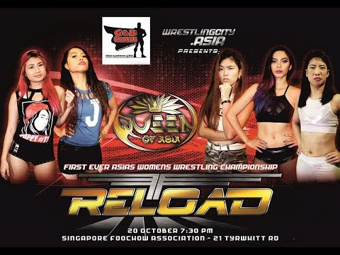 Wrestling Queen of Asia elimination match