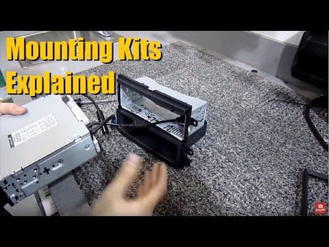 Why you need a Mounting Kit when Installing an aftermarket Head unit / Deck