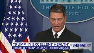 White House press briefing on President Donald Trump