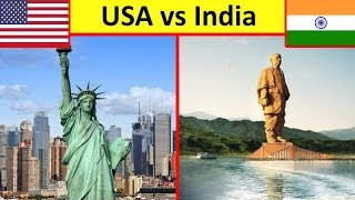 India vs United States | Country Comparison (Extremely Biased)