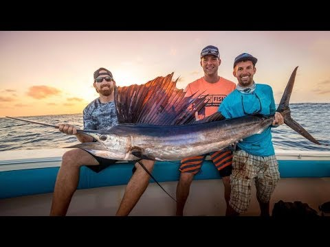Deep Sea Fishing Battle | Dude Perfect