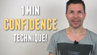 How To Be Confident In 1 Min - Martial Arts Confidence Shortcut That Works Fast, Anywhere!