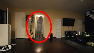 SCARY GHOST CAUGHT ON CAMERA!