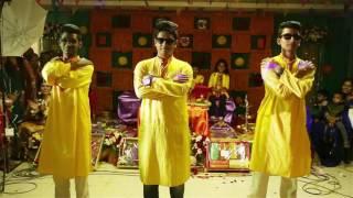 Funny Holud Dance | Rahul | Rohit | Amit |  Srabanti & Aninda's Holud  | 2016