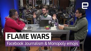 Facebook Journalism and Monopoly Emojis | The Engadget Podcast Ep: 24