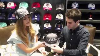 Nina Agdal Gives Tips on How to Wear a Hat