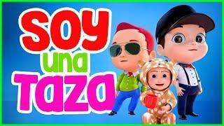 Soy Una Taza     Canciones infantiles para bailar    Vídeos infantiles musicales