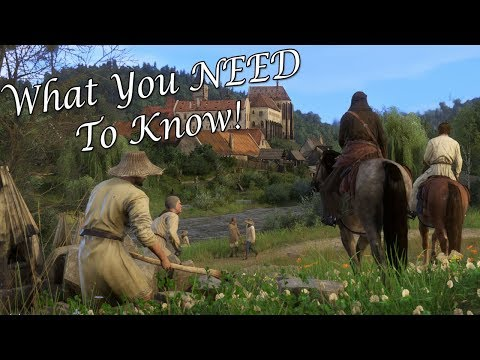 Kingdom Come: Deliverance - 4 Things You Should Know Before Playing!