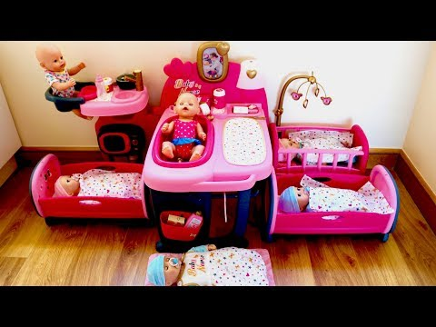Xxx Mp4 Baby House Large Nursery Center Baby Born And Baby Annabell Baby Dolls Care Routine Pretend Play 3gp Sex