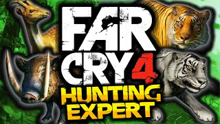 Far Cry 4: Hunting Expert! - BEST MOMENTS MONTAGE! - (Funny Moments)