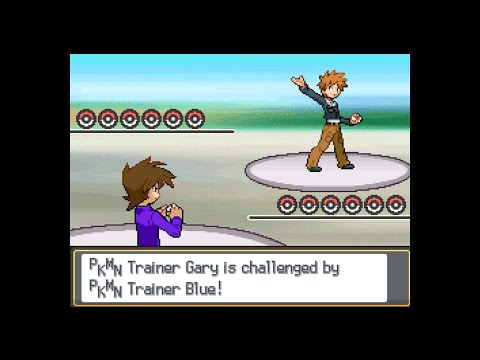 Pokemon Multiverse - Gary vs Blue (Johto & Kanto League teams)