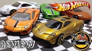 New Hotwheels Exotics 5-Pack Review!