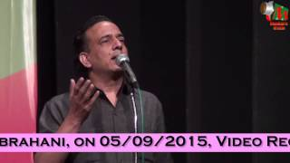 Iqbal Ashar at Latest Mushaira Mumbai, By Mr. Yusuf Abrahani on 05/09/2015