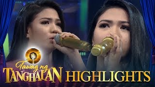 Tawag ng Tanghalan: Remy becomes emotional after her performance