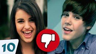 Os 10 videos Com Mais Dislikes do Youtube (Atualizado)