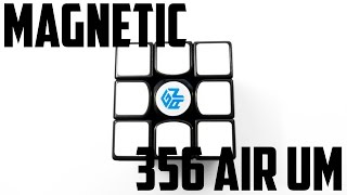 Gan/Gans 356 Air Ultimate Magnetic (UM) Unboxing?! Mass produced magnetic cubes??