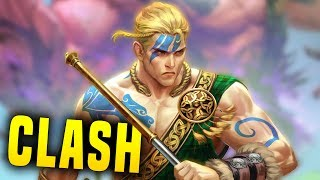 Way Better Than Expected! | Smite Cu Chulainn Clash Gameplay (Cu Chulainn Build)
