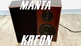 Manta SPK916X Kreon - test, recenzja drewnianych kolumienek telewizyjnych!