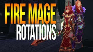 7.2/7.2.5 FIRE MAGE GUIDE: Rotations