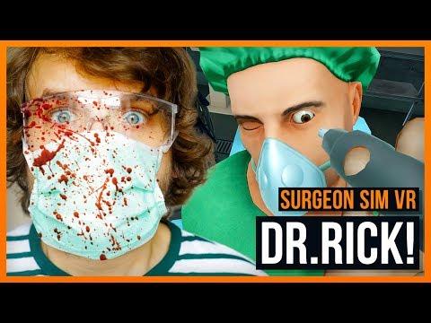 Dr. Rick klaut dir dein Herz! - Surgeon Simulator VR