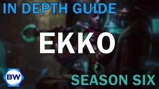 League of Legends: In Depth Guide to Ekko Jungle (Season Six)