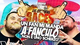 BIG BROTHERS RACES: un Fan Mi Manda a Fanculo