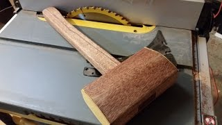 How to make a Mallet out of hardwood