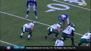 Zach Ertz' Catch-'n-Run for 60 Yards! | Eagles vs. Giants | NFL