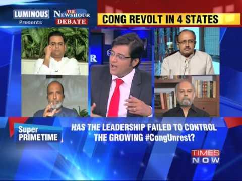 The Newshour Debate: The big Congress Unrest - Part 2 (21st July 2014)