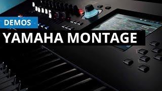 Demo de Yamaha Montage